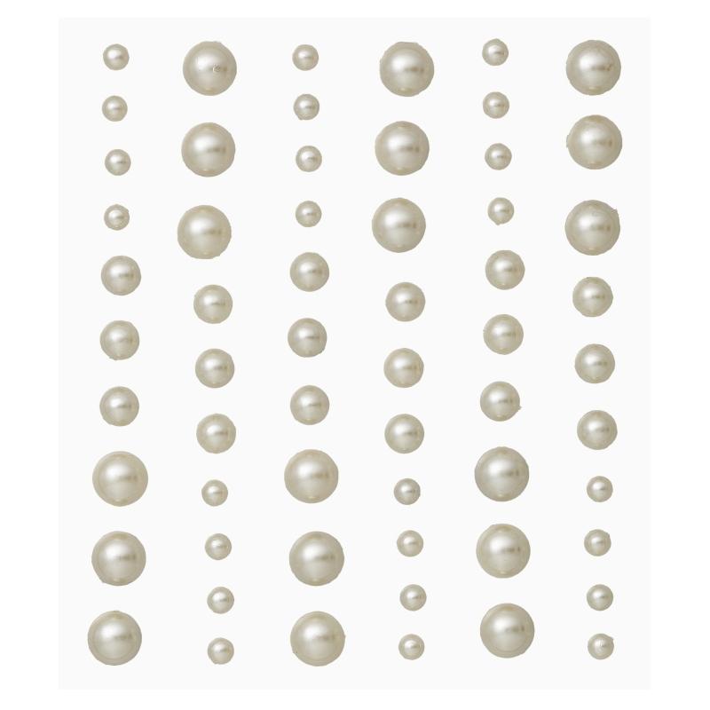 Stony Stickers Champagner Edle Halbperlen Zum Aufkleben