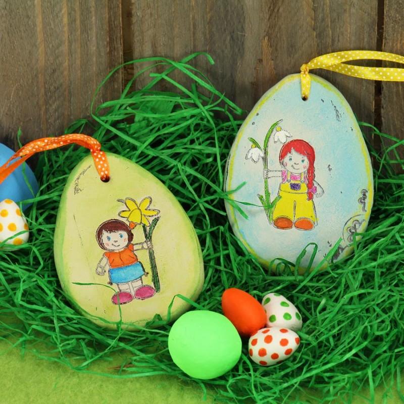 Frühling basteln mit Kindern