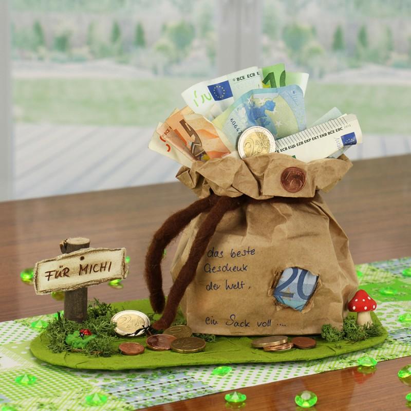 Geldgeschenke Geburtstag selber basteln